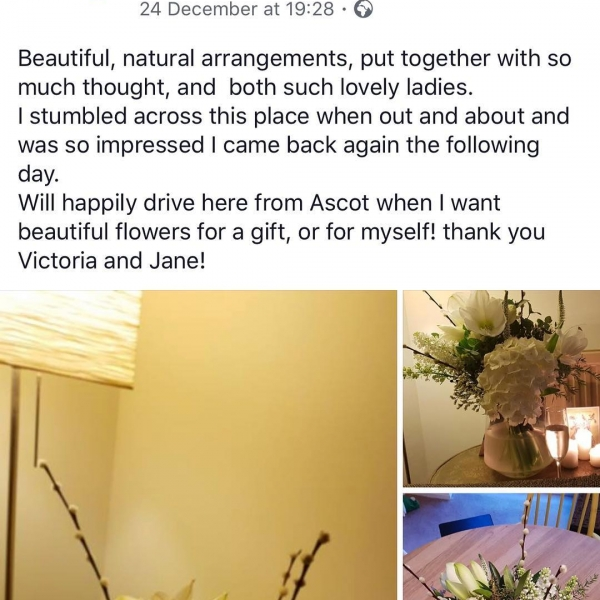 Customer reviews that warm the soul! 😍Word of mouth and customer reviews are so incredibly important for small, independent business like ourselves, so if you have used us in the past and have been happy please take 5 minutes to like/recommend or review us on Facebook or even better on google! It really does mean so much! Thank you muchly! ❤️..#flower #supportlocal #review #facebook #google #help #happy #small #independent #business #thankyou