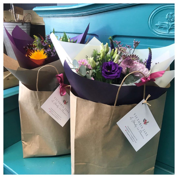 We are always happy to make bouquets while you wait (or give us a ring!) however if your short on time we have grab bunch's available 🌿...#bouquet #bouquetofflowers #bouquetinspo #instaflower #instaflorist #shoplocal #aqua #gift #anniversary #birthday #love #thankyou #victoriajaneflowers #burnham #maidenhead #taplow #windsor #slough