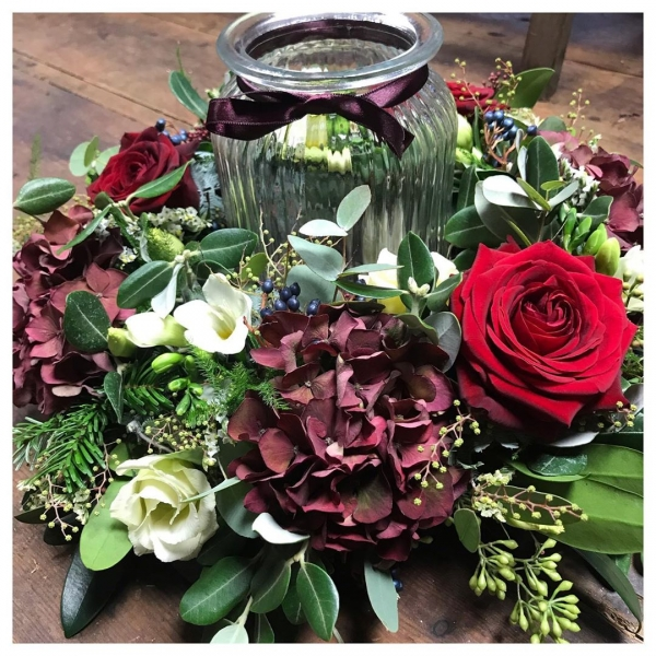"""Now taking orders for Christmas table arrangements.. 🎄 We will have a few made ready for sale but they sell out quick so please get your order in to avoid disappointment:)Prices (working on image!) start from £30.00 Smaller containers available (like image➡️) from £25.00Posy dishes from £20.00""""Tis the season"""" 🎄😁..#christmas #hohoho #tistheseason🎄#decorative #decorations #christmasideas #christmasdecor #greens #itsbeginningtolookalotlikechristmas #victoriajaneflowers"""